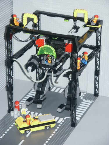 lego repair bay 375x500 lego repair bay lego Awesome Things