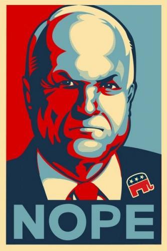 mccain nope 333x500 McCain   Nope Politics