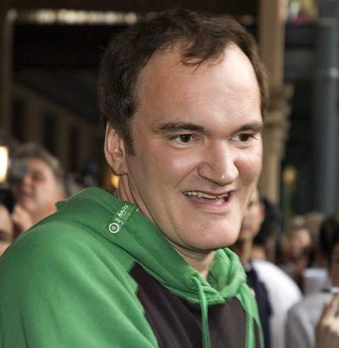 quentin tarantino - green and black