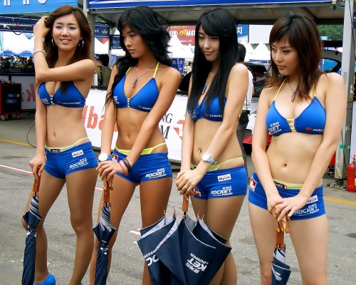 Rocket Power Girls - With Umbrellas