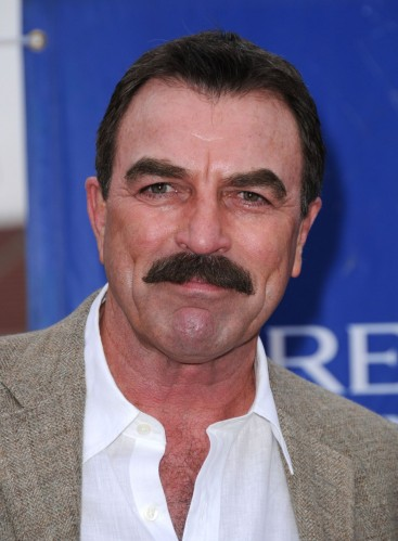 Tom Selleck - Manly mustache