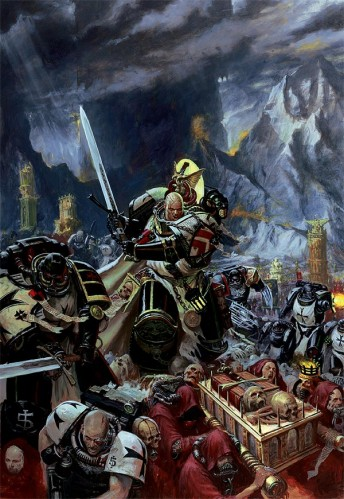 warhammer space marines on the move