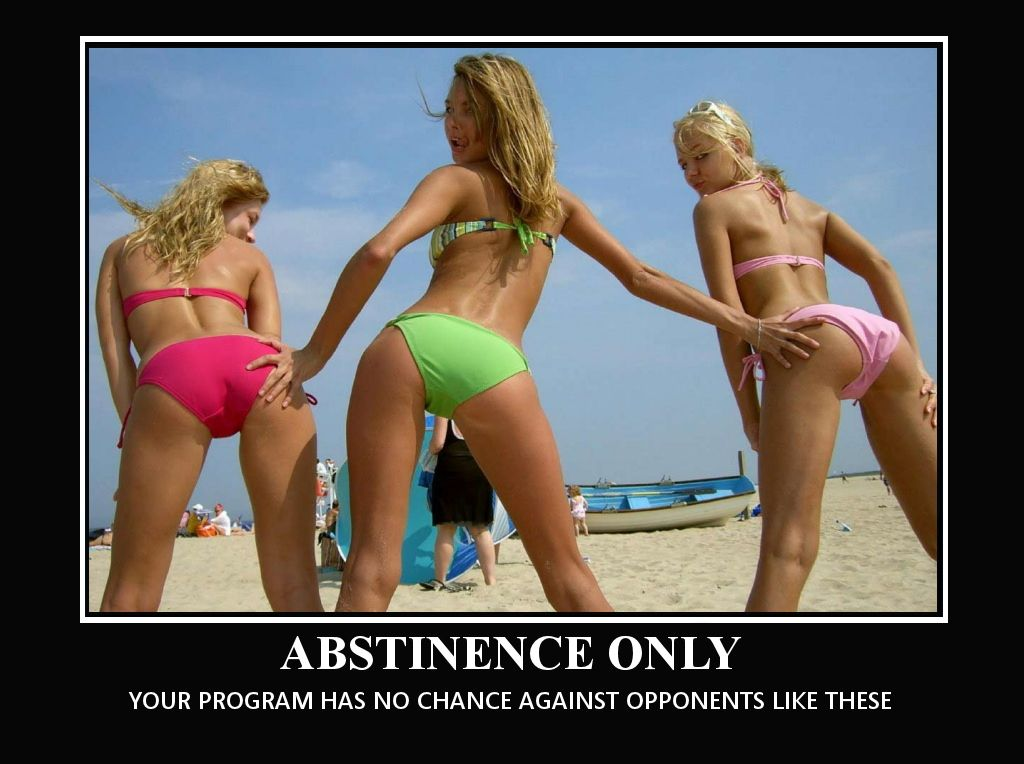 Abstinence Only – Your program has no chance against opponents like these