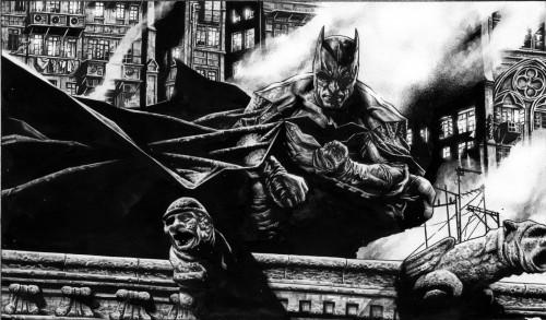 Batman On Rooftop