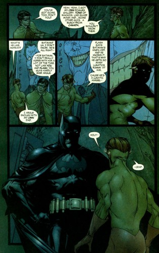 Batman vs Kid Flash