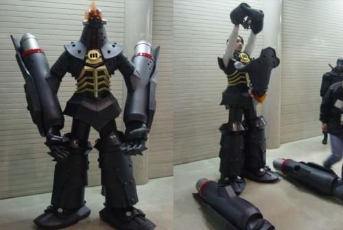 Big O cosplayer