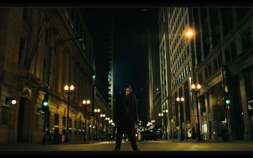 Joker waiting his batpod meeting
