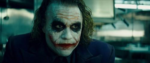 Joker's pretty face