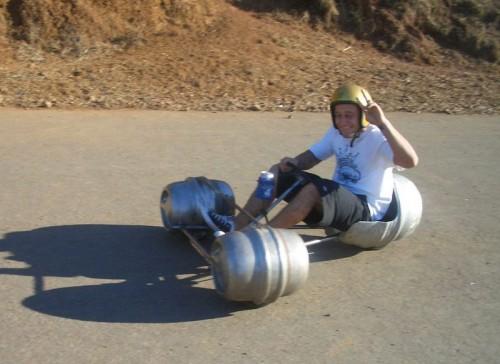 keg pod racer
