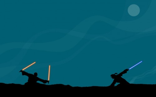 Light Saber Fight