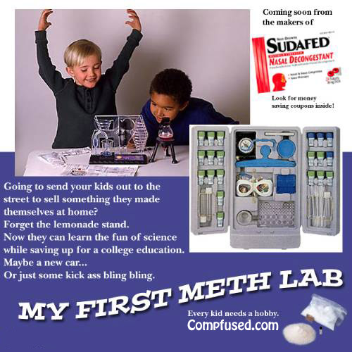 my first meth lab My First Meth Lab Science! 420