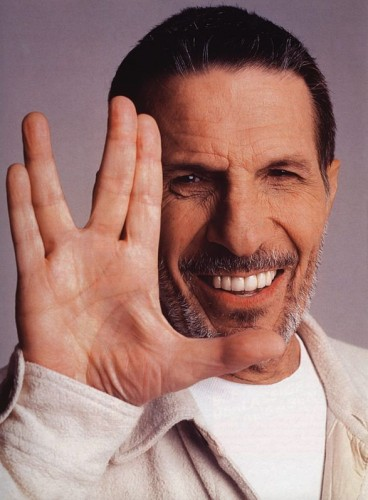 nimoy - live long and prosper