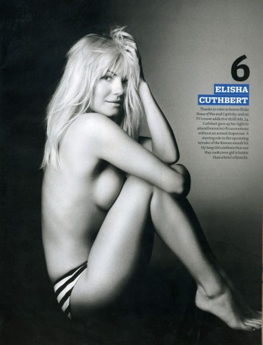 NSFW - Elisha Cuthbert Topless