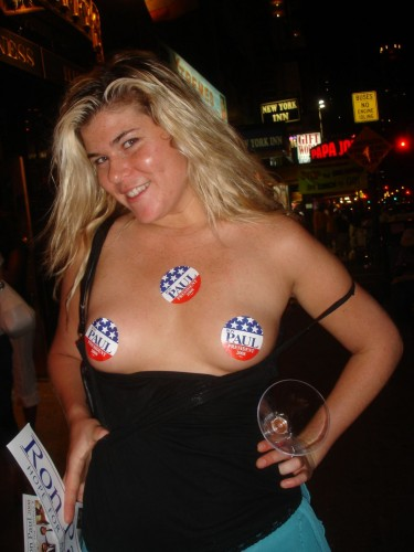 NSFW - Ron Paul Supporter