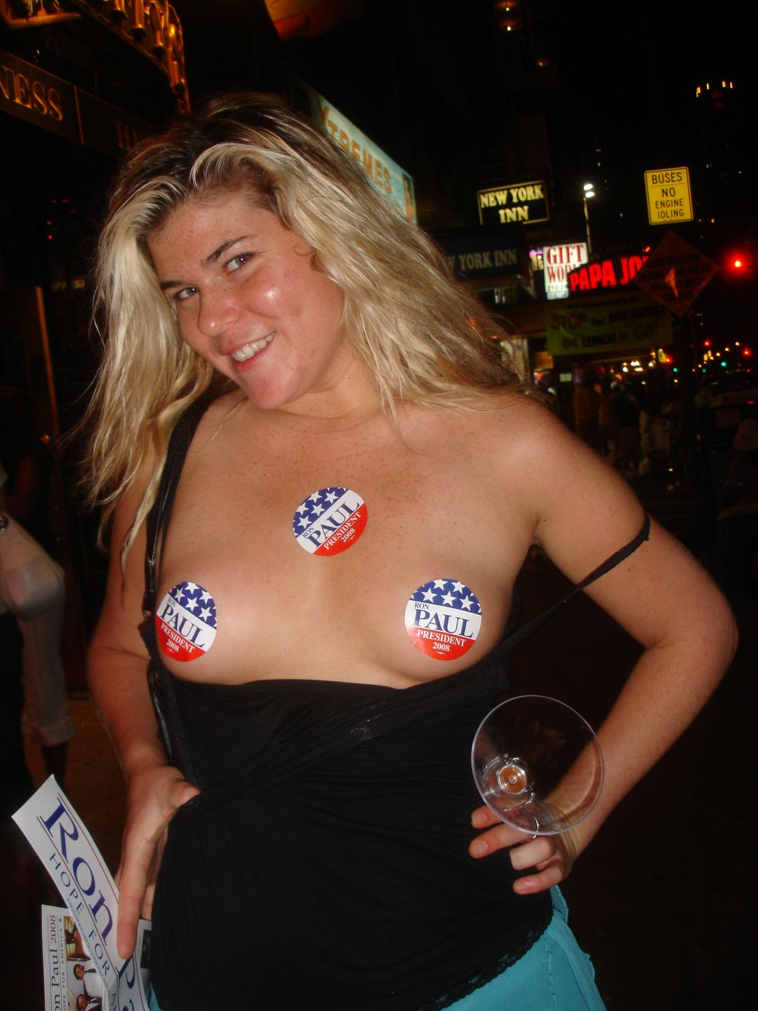 NSFW – Ron Paul Supporter