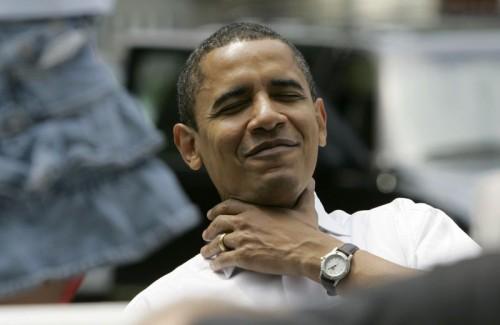 Obama - Choke yourself