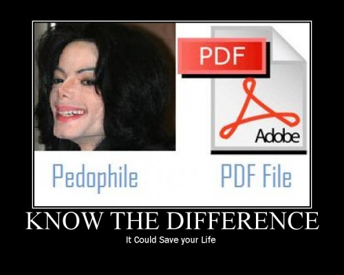Pedophile vs PDF File
