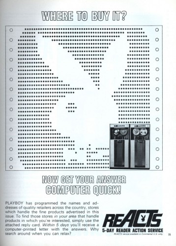 playboy ascii advertisement