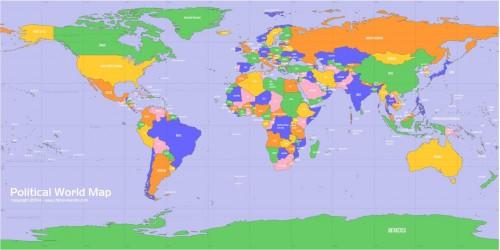Political World Map