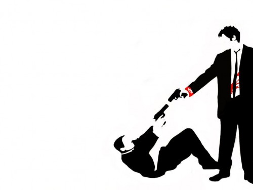 reservoir dogs vector 500x375  reservoir dogs vector Wallpaper Movies