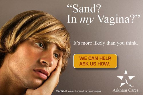 Sand In MY Vagina