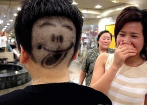 Smilie Haircut
