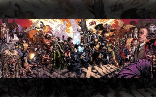 X-men Cover Panorama