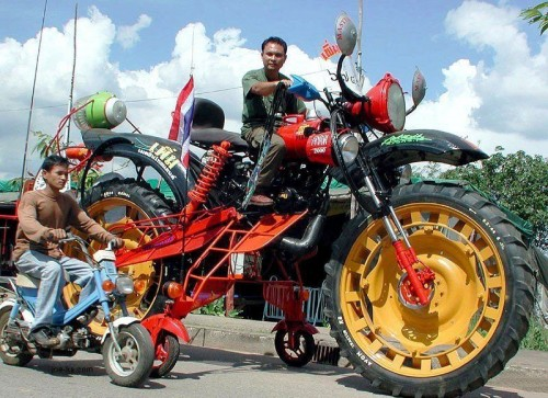 Bigger Motorcycle