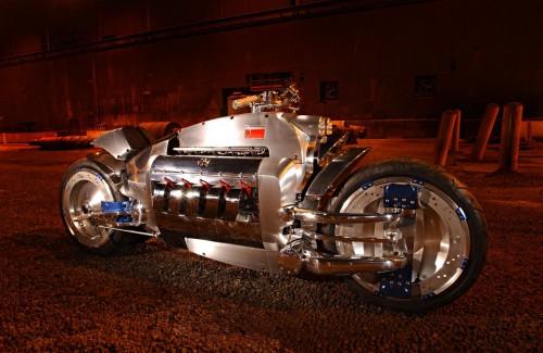 Dodge Tomahawk concept motorcycle 2