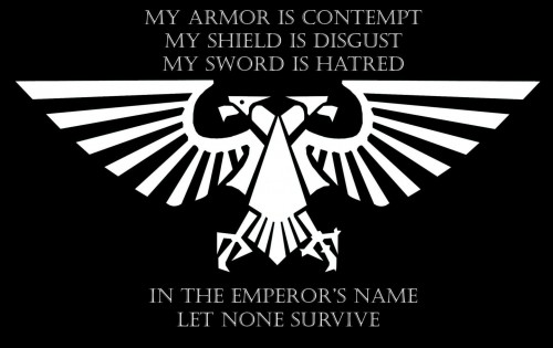In The Emperor's Name Let None Survive