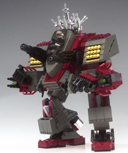 Lego Chrome Mech