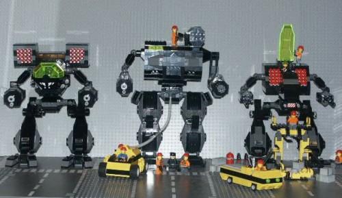 lego mechs 500x289 Lego Mechs Legos Fantasy   Science Fiction
