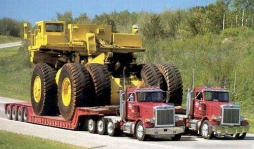 massive dump truck