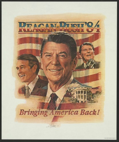 Reagan - Bush 84 - Bringing America Back