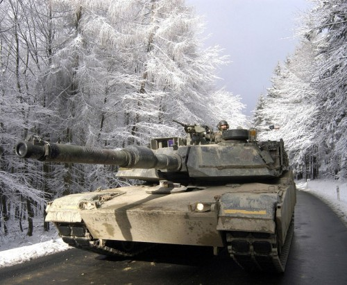 snow tank 500x411 Snow Tank Wallpaper Military