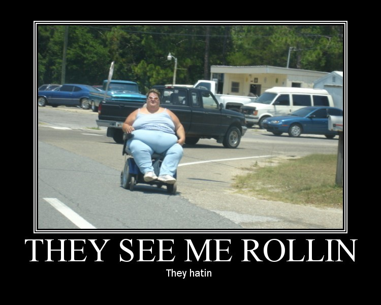 They see me rolling- They Hatin