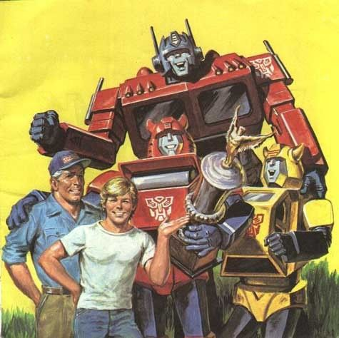 transformers trophy