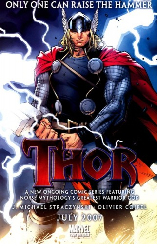 Thor - Only One Can Raise The Hammer