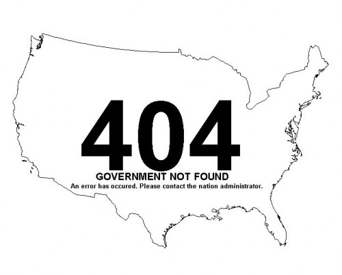 404 - Government Not Found