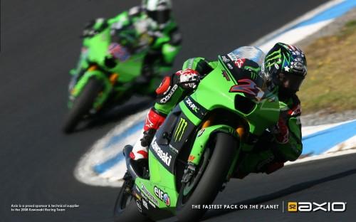 Axio Sponsor of Kawasaki Racing Team