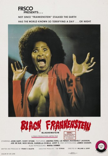 black frankenstein 347x500 Black Frankenstein Sexy Movies Movie posters