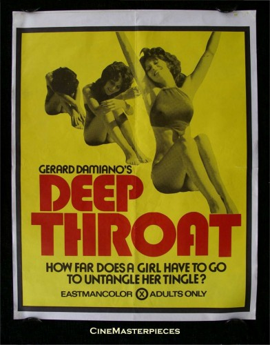 deep throat 392x500 Deep Throat XXX Sexy Movie posters