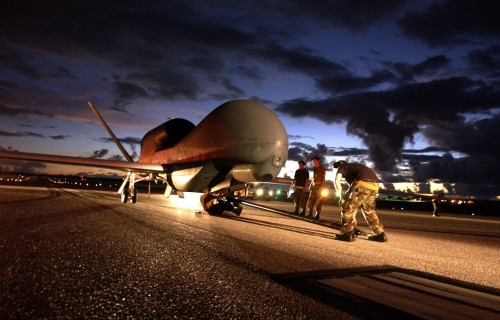 global hawk unmanned aircraft system 500x320 Global Hawk unmanned aircraft system Wallpaper Technology Military
