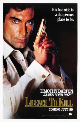 licence to kill 328x500 Licence To Kill Movie posters