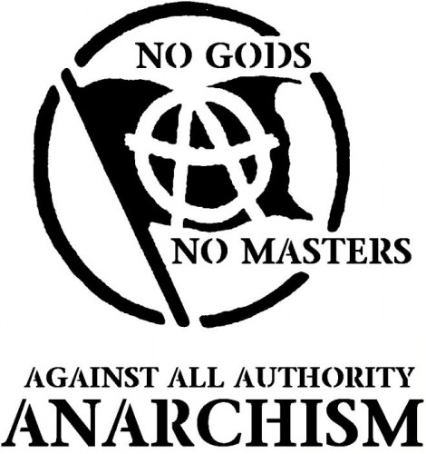 No Gods, No Master, Against All Authority - Anarchism