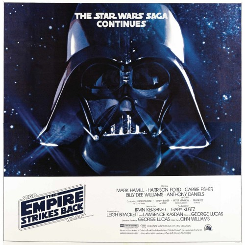 star wars the empire strikes back vader movie poster 500x500 Star Wars   The Empire Strikes Back   Vader Movie Poster star wars Movie posters