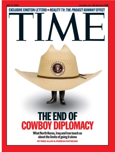 The End of Cowboy Diplomacy