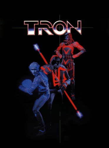 tron blue and red
