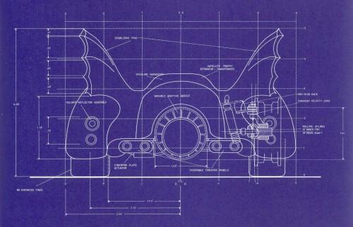 Batmobile Blueprints 3