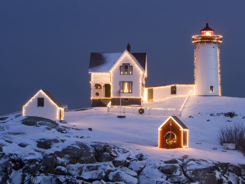Christmas Lookout House